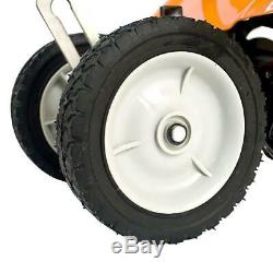 10 inch 43cc Gas Powered 2Cycle Cultivator with Wheels Folding Handle Heavy Duty