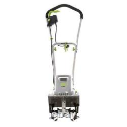 11 in. 8.5 amp electric tiller and cultivator earthwise corded tc70001 garden