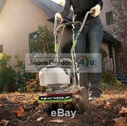 12802 NEW EARTHQUAKE MC440 4-CYCLE MINI CULTIVATOR 40cc GARDEN FLOWER BED 5 YEAR