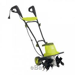 13.5 amp 16 Inch Electric Garden Tiller 6 Tine Cultivator Folding Handle Sun Joe