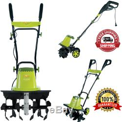 16 Inches Electric Garden Tiller/Cultivator 12 Amp Motor Durable Steel Yard Tool