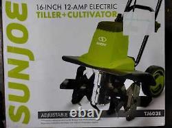 16 in. 12 Amp Electric Garden Tiller/Cultivator by Sun Joe