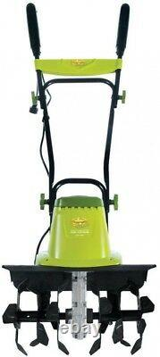 16 in. Corded Electric Tiller/Cultivator with 3-Position Wheel Adjustment 13.5-Amp