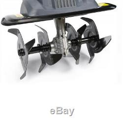 1700w Electric Tiller Cultivator Rotavator Garden Lawn Machine
