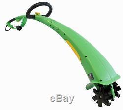 1/3 HP 6 Cutting Width Corded Electric Garden Tiller/Cultivator 330 RPM Lightwe