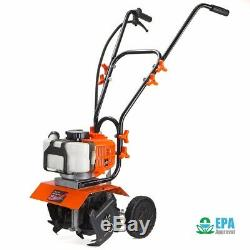 1.75hp Lawn Garden Gas Cultivator Yard Tiller 10 43cc 2-stroke Soil Aerator