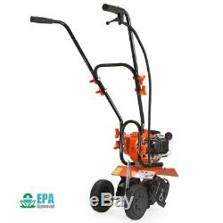 1.75hp Lawn Garden Gas Cultivator Yard Tiller 10 43cc 2 stroke Soil Aerator