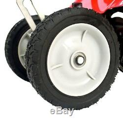 2-Cycle Gas Powered Cultivator 10in Wide Adjustable Wheels 3-piece Foldable Hand
