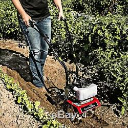 31635 Earthquake Mini Cultivator 33cc Garden Flowerbeds Mfg Refurbished
