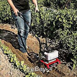 31635 New Earthquake Mini Cultivator 33cc Garden Flowerbeds 5 Yr Warranty