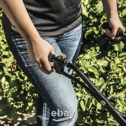 33cc Front Tine Gas Adjustable Wheel Garden Soil Aerator Mini Tiller Cultivator