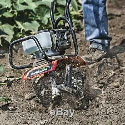 33cc MAC Garden Bed Yard Soil 2 Cycle Cultivator Weeder Aerator Fertilizer Mixer
