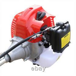 42.7CC 2 Stroke Garden Mini Tiller Cultivator Handheld Gas Powered Engine USA