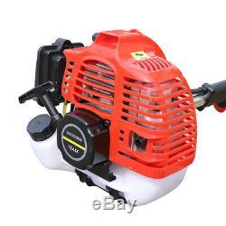 42.7CC Garden Tiller Cultivator Handheld 2 Stroke Gas Powered Engine Machine USA
