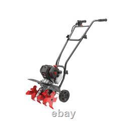 46 cc Gas 4-Cycle Cultivator Garden Yard Lightweight Cushioned Handle Grip 15 in