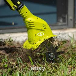 4.25 inch 24-Volt Cordless Electric Garden Tiller/Cultivator Kit Battery Charger