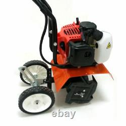 52CC 2HP 2-Stroke Tiller Gas Powered Garden Yard Forward Rotate Tine Cultivator