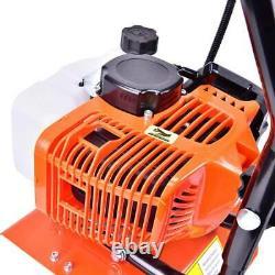 52CC 2-Strok Soil Gas Mini Tiller Cultivator 6500rpm Plant Garden Tilling Tool