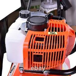 52CC 6500rpm Soil Gas Mini Tiller Cultivator Farm Plant Garden Yard Tilling Tool