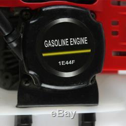 52CC Mini Gasoline Tiller Garden Law Cultivator 2 Stroke 2HP 1.6KW Rototiller