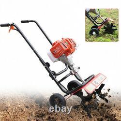 52CC Petrol Electric Tiller Cultivator Soil Ripper Garden Soil Tiller