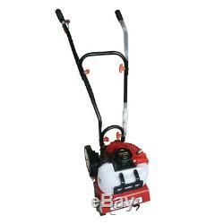 52cc 2-Stroke Mini Engine Garden Tiller Cultivator Gas Powered Tilling Soil Tool