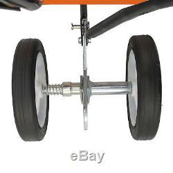 52cc Garden Mini Tiller 3HP Petrol Power Soil Cultivator 2-Stroke Engine Tool