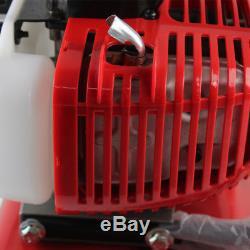 52cc Garden Mini Tiller Petrol Power Soil Cultivator 2-Stroke Engine Tool SALE