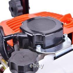 52cc Mini 6500RPM Gas Tiller Soil Tilling Cultivator Plant Farm Garden Yard Tool
