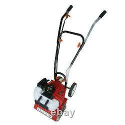52cc Soil Gas Powered Mini Tiller Cultivator Farm Garden Yard Lawn Tilling