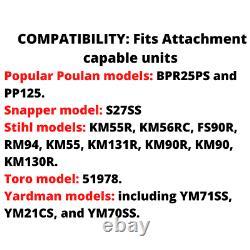 8 Trimmer Polesaw Attachment For For Poulan Pro Snapper Stihl Toro Yardman