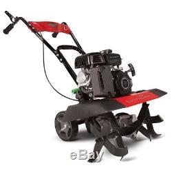 99cc Gas Versa Compact Rototiller Garden Tiller Cultivator Metal Multi-Purpose