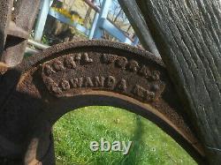 AGR'L WORKS GOWANDA NY Primitive Antique Cultivator Farm Garden Hand Plow Tool