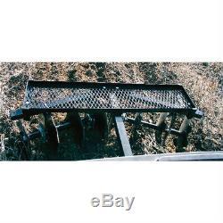 ATV Disc Harrow Landscape Rake UTV Plugger Durable All Steel Soil Cultivator New