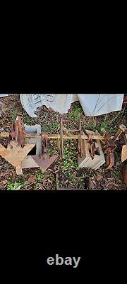 Allis Chalmers Garden Tractor Cultivator with belly