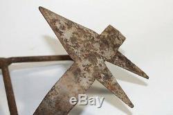 Antique Bulgarian Garden Hand Cultivator Tool 18 Century