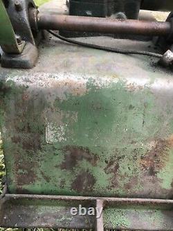 Antique Mellinger Garden Spot Garden Tractor Cultivator Clinton Engine