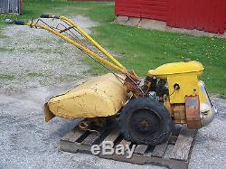 Antique Vintage Nice Graham-Paige Garden Tiller Rototiller Farm Cultivator Tool