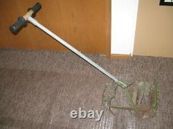 Antique Vintage RoHo Hand Push Garden Cultivator Tiller Weed Plow Claw Used