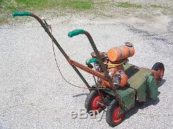 Antique Vintage Roto-Hoe 148H Garden Tiller Rototiller Cultivator Collectible