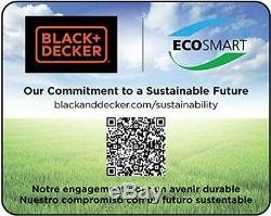 BLACK+DECKER LGC120B Bare Max Lithium Ion Garden Cultivator/Tiller, 20-Vo