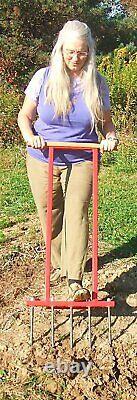 Broadfork Garden Tiller/Cultivator