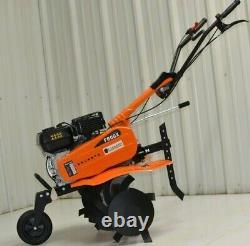 Champ Mfg F600X Mid Tine Tiller Cultivator better than honda gas gasoline
