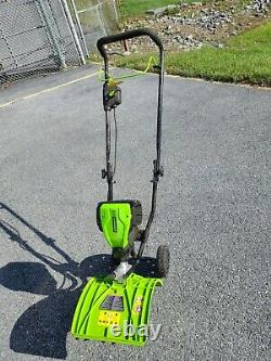 Cordless Cultivator Electric PRO Outdoor Power Equipment 8 in. 60-Volt Tool-Only