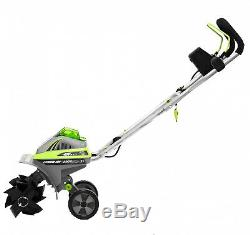 Cordless Electric 11 Tiller/Cultivator Tool 40-V Lithium Ion WithAdjustable Tines