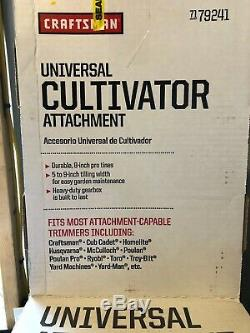 Craftsman Universal Mini-Tiller Cultivator Attachment for String Trimmers