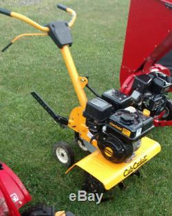 Cub Cadet Garden Tiller Cultivator 24 208cc Front-Tine Forward-Rotating Gas
