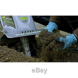 Cultivator Tiller Soil Preparation Garden Grow 4 Blades Lightweight Easy Use NEW