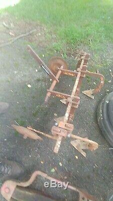 Cultivator for Sears Suburban Lawn & Garden Tractor 3 point Hitch Attachment 3pt