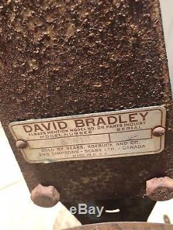 David Bradley Cultivator, Plow, Garden, Single Row, Sears Roebuck